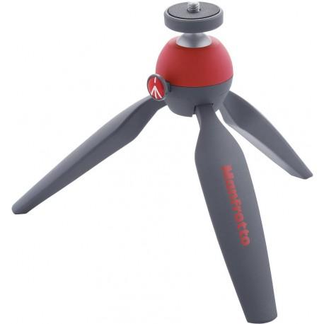 Manfrotto tripod Pixi Mini MTPIXI-RD, red