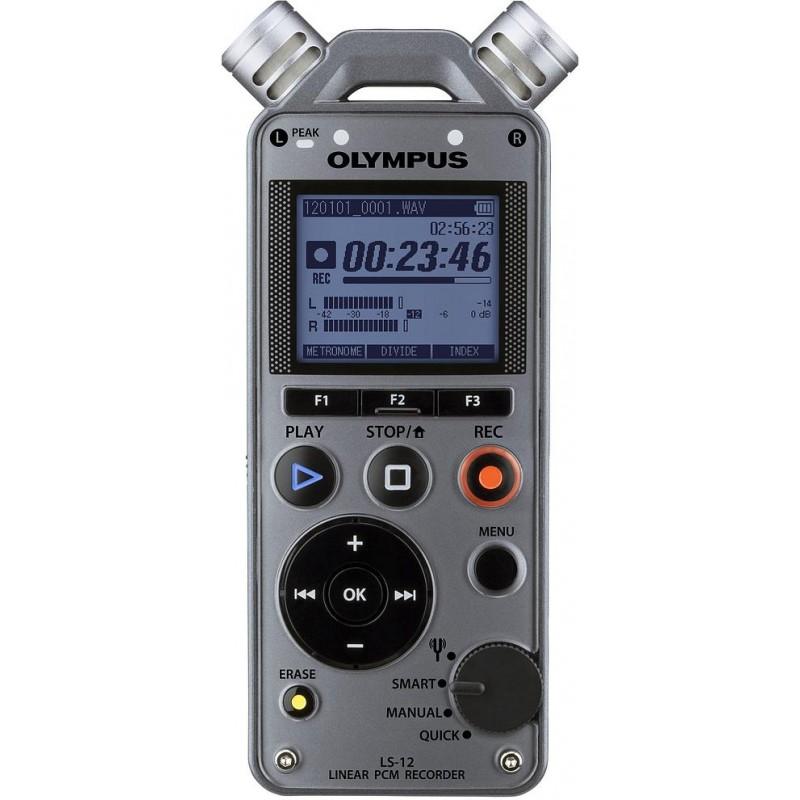 Olympus диктофон LS-12 PCM, серебристый
