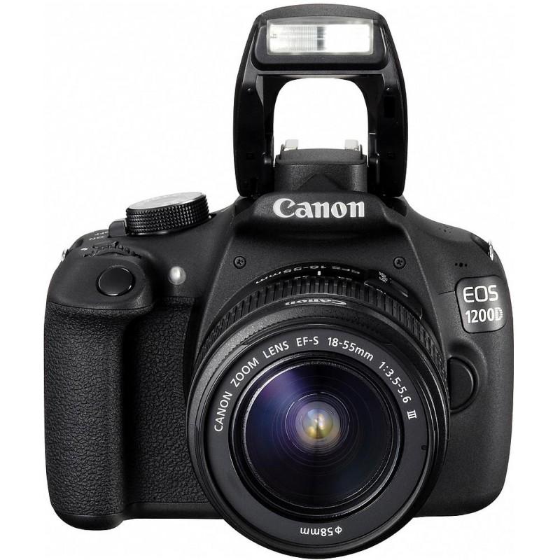 Canon EOS 1200D + 18-55 мм DC III + 50 мм f/1.8 Kit