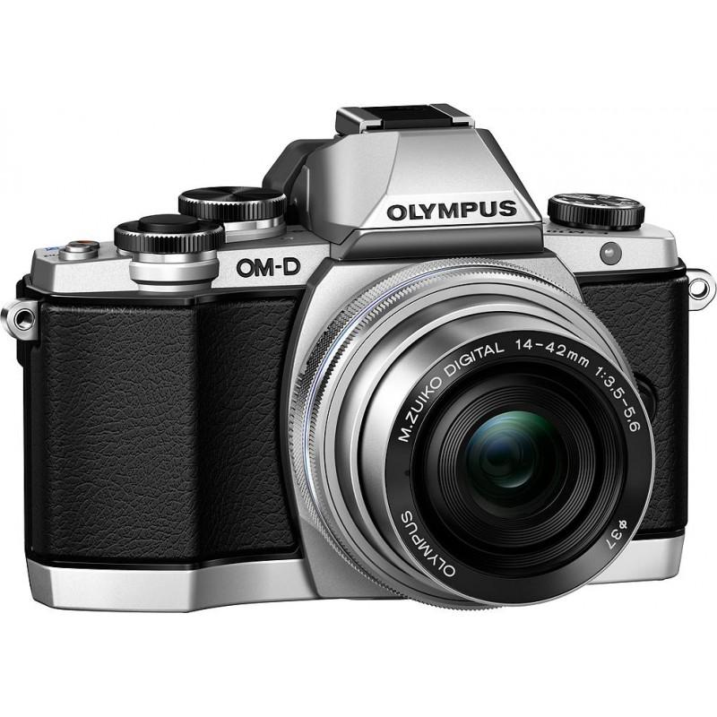 Olympus OM-D E-M10 + 14-42 EZ Kit, серебристый