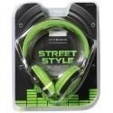 Vivanco kõrvaklapid COL400, roheline (34879)