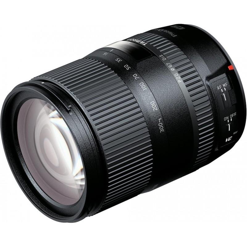 Tamron AF 16-300mm f/3.5-6.3 DI II VC PZD Macro objektiiv Nikonile