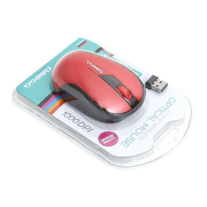 Omega hiir OM-415 Wireless, punane/must