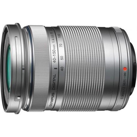 M.Zuiko Digital ED 40-150мм f/4-5.6 R, серебристый