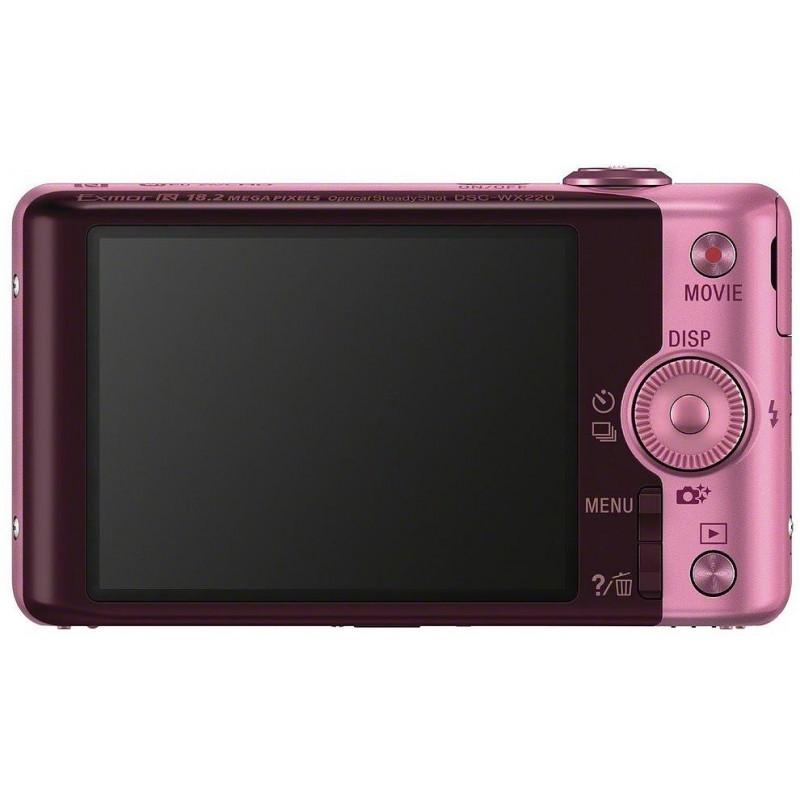 Sony DSC-WX220, roosa