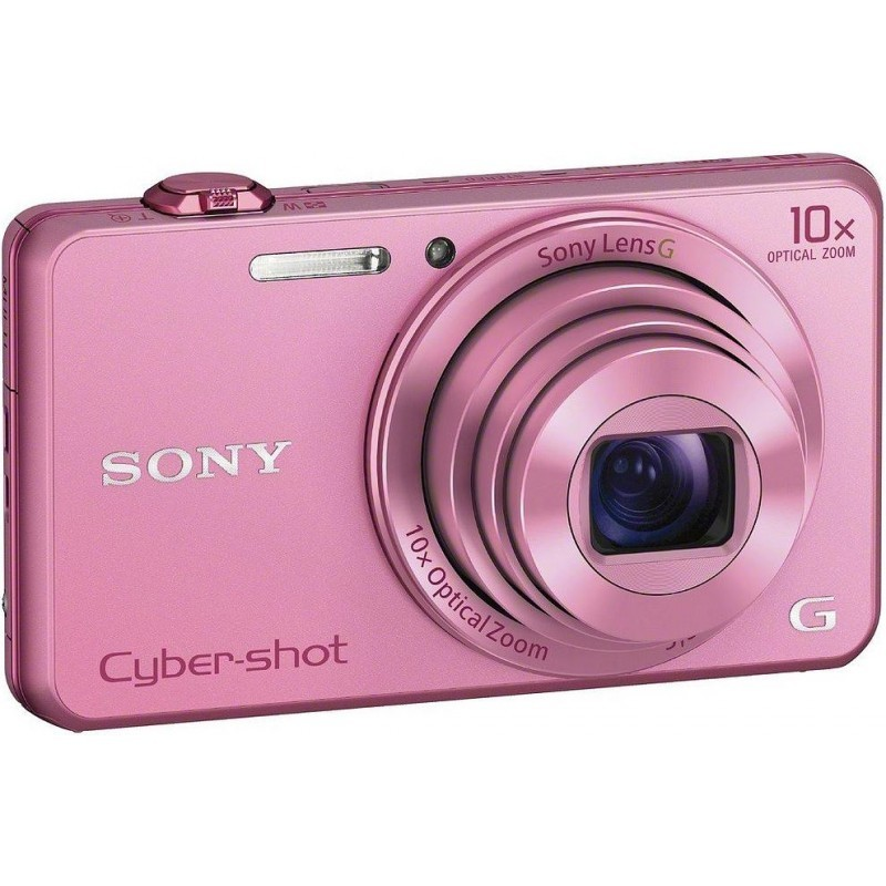 Sony DSC-WX220, розовый
