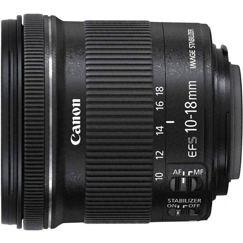 Canon EF-S 10-18mm f/4.5-5.6 IS STM objektiiv