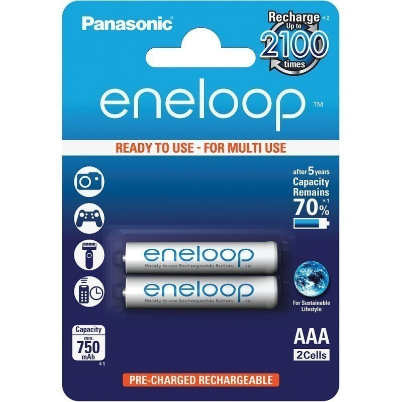 Panasonic eneloop aku AAA 750 2BP
