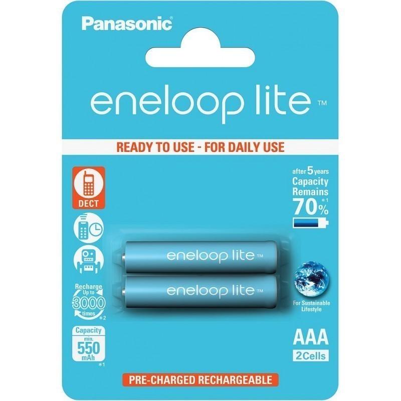 Panasonic eneloop aku lite AAA 550 2BP