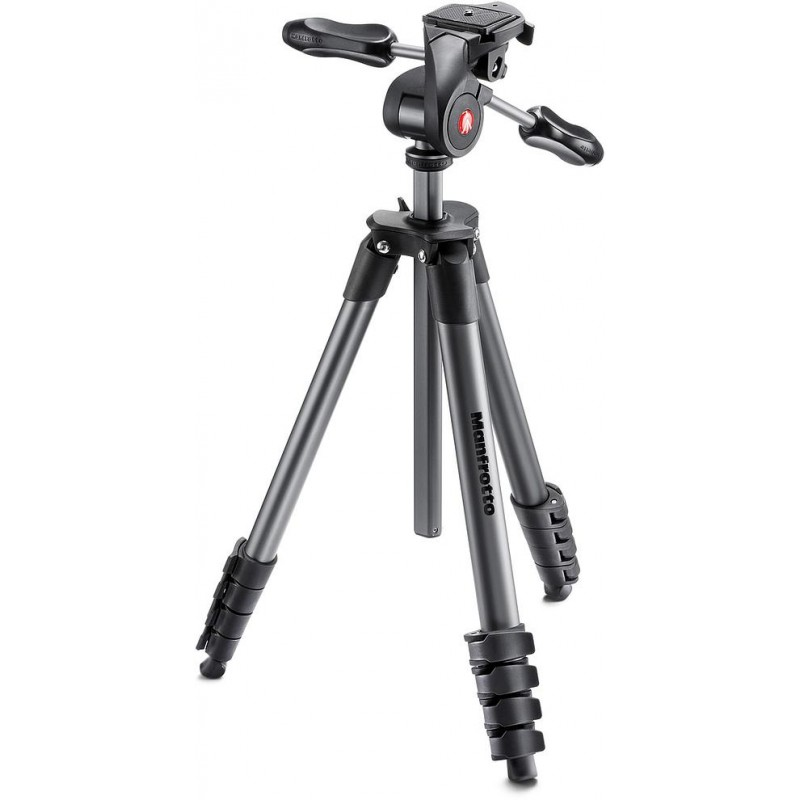 Manfrotto statiiv MKCOMPACTADV-BK, must