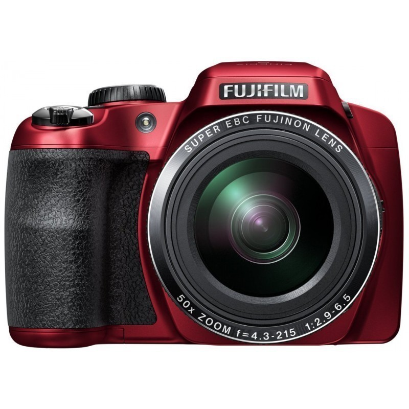 Fujifilm FinePix S9200, красный