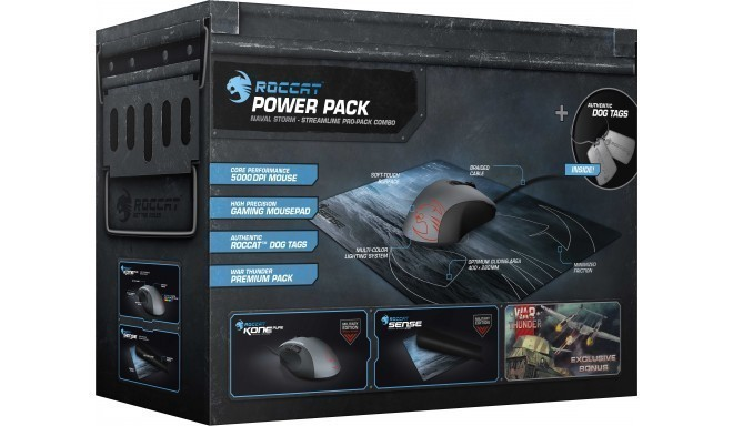 Roccat Military Bundle ROC-16-226 Naval Storm