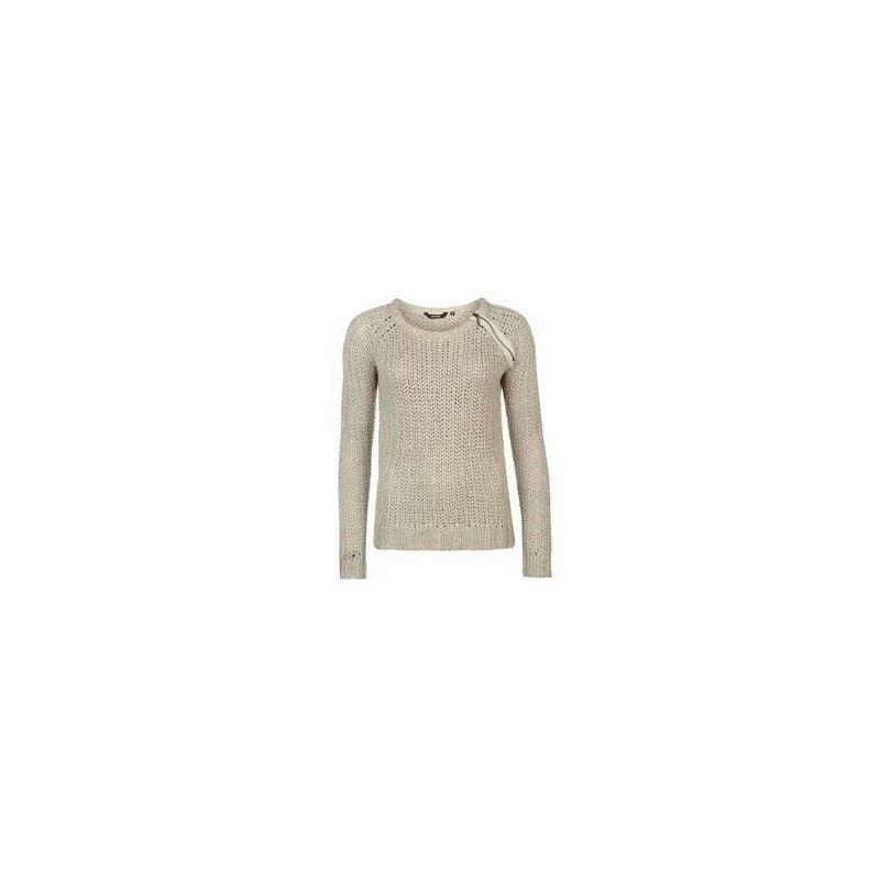 1403817dd4 Golddigga Zip Shoulder Knit Jumper Ladies - Sweaters - Photopoint