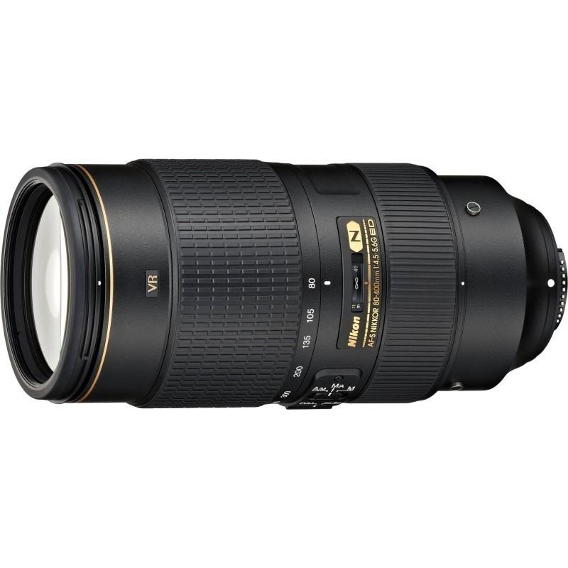 Nikon AF-S Nikkor 80-400mm f/4.5-5.6G ED VR objektiiv