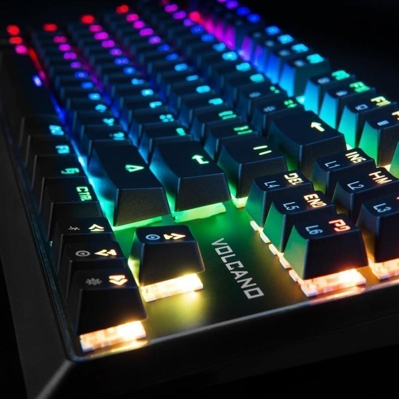 Modecom Mechanical Keyboard Volcano Lanparty Rgb Outemu
