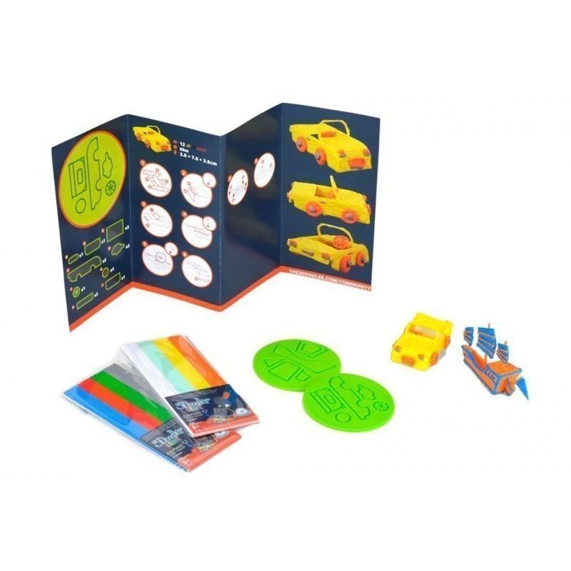 3DOODLER DoodleBlocks - Set of templates for the pen 3Doodler Start ...