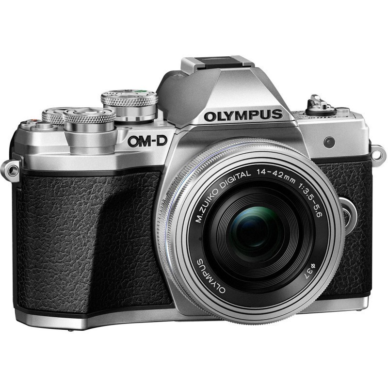 Olympus OM-D E-M10 Mark III + 14-42mm EZ Kit, silver