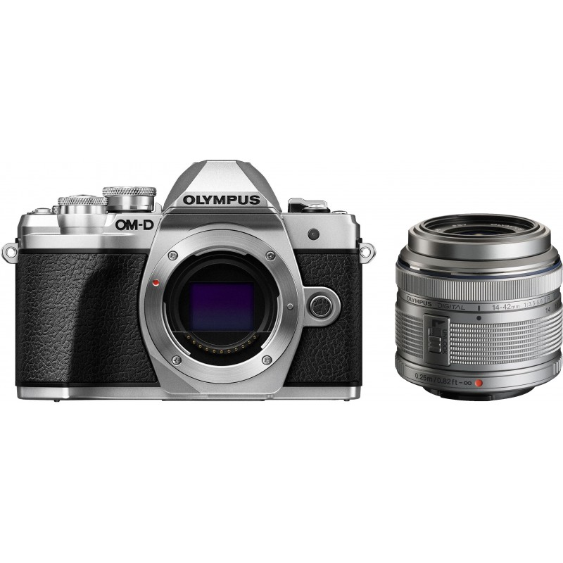 Olympus OM-D E-M10 Mark III + 14-42mm II R Kit, silver