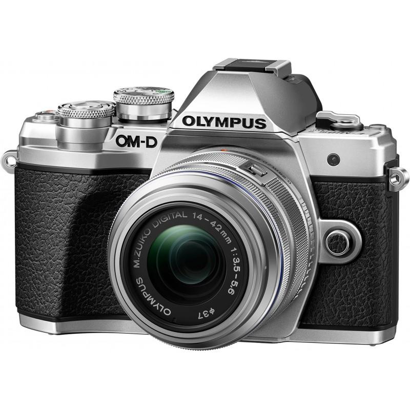 Olympus OM-D E-M10 Mark III + 14-42mm II R Kit, silver