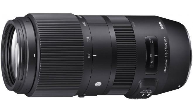 Sigma 100-400mm f/5-6.3 DG OS HSM Contemporary objektiiv Canonile
