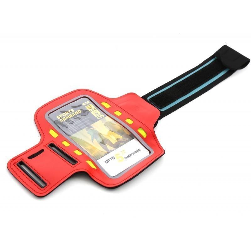 Platinet käepael Sport LED, punane (43708)