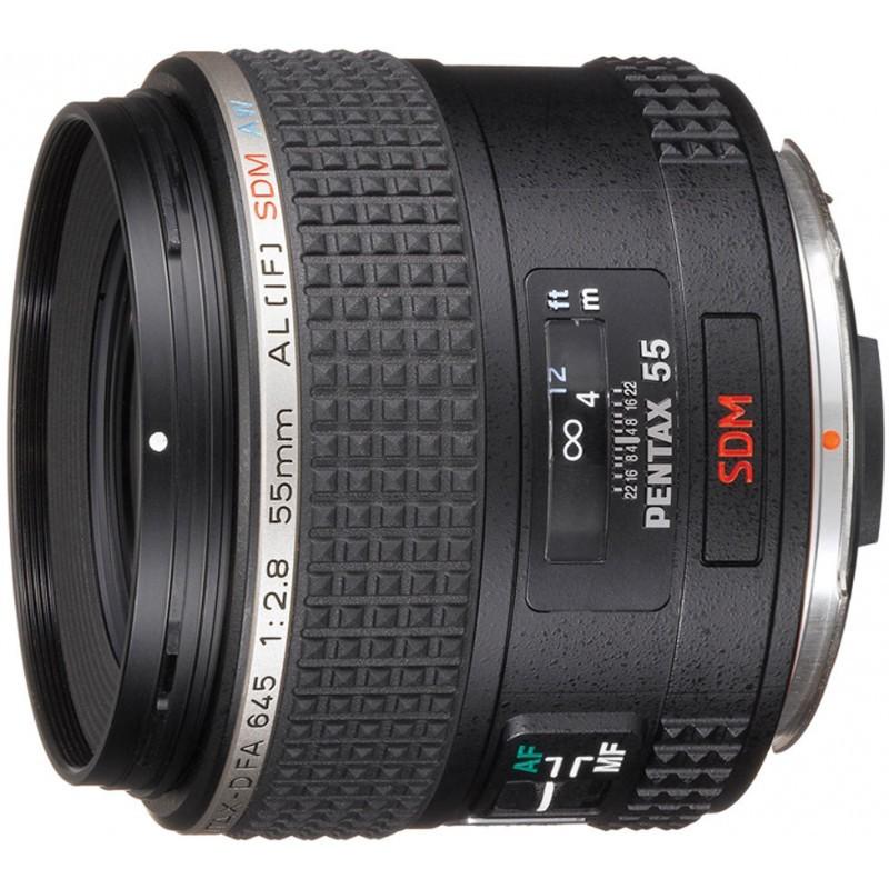 smc Pentax 645 D-FA 55mm /f2.8 AL (IF) SDM