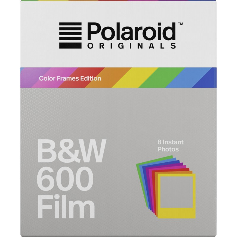 Polaroid 600 B&W Color Frame