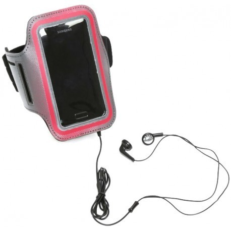 Platinet Smartphone Armband HQ, red