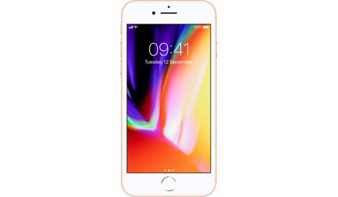 Apple iPhone 8 256GB, zeltīts