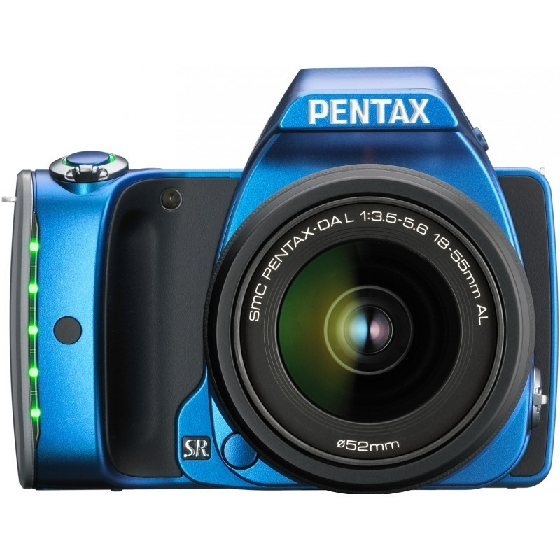 Pentax K-S1 + 18-55mm Kit, sinine