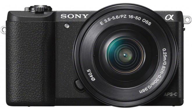 Sony a5100 + 16-50мм Kit, чёрный