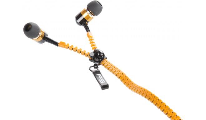 Omega Freestyle kõrvaklapid + mikrofon FH2111, oranž