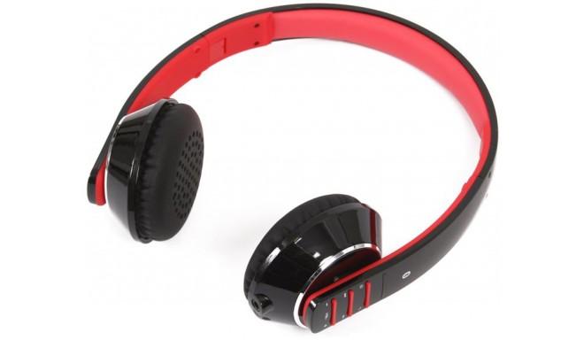 Omega Freestyle kõrvaklapid + mikrofon FH0906 Bluetooth, must