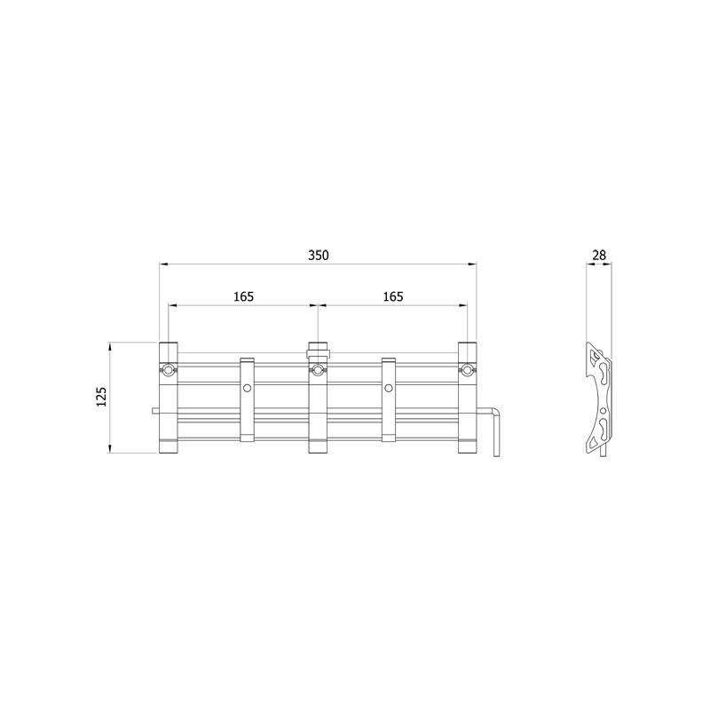 Vivanco teleri seinakinnitus Titan (35550)