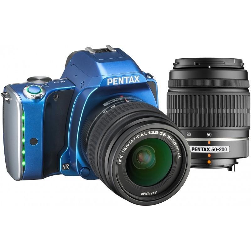 Pentax K-S1 + 18-55 + 50-200 Kit, синий