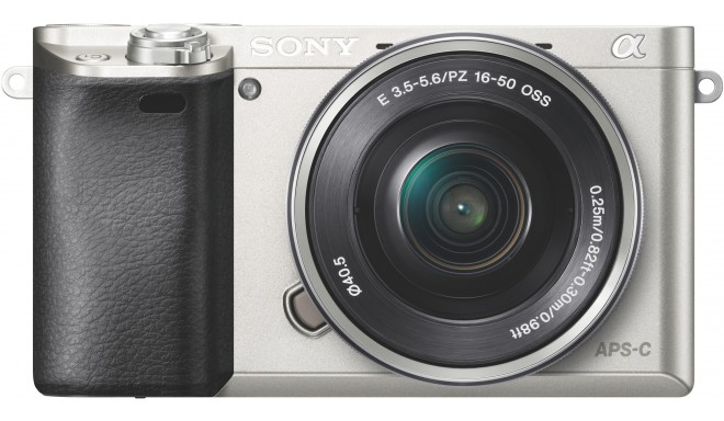 Sony a6000 + 16-50mm komplekts, sudraba