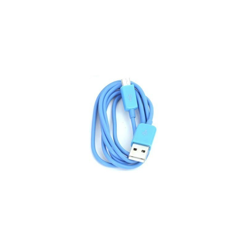 Omega kaabel USB - microUSB 1m, sinine (42333)