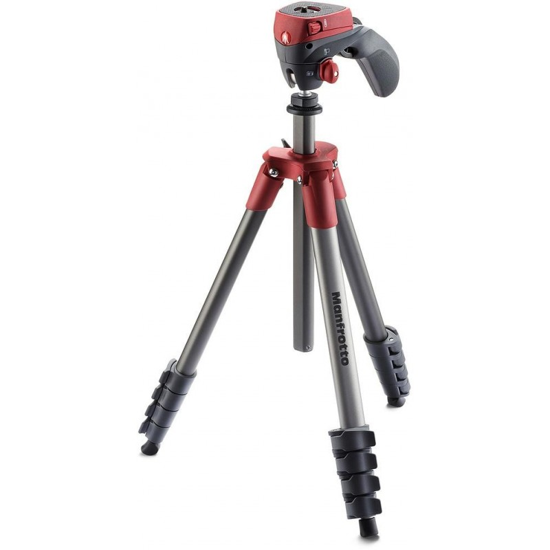 Manfrotto tripod MKCOMPACTACN-RD, red (no package)