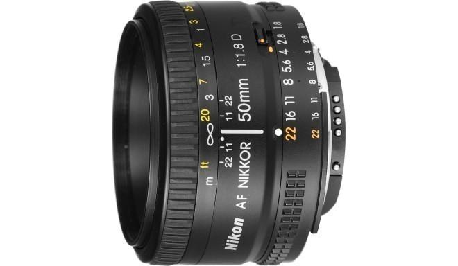 Nikon AF Nikkor 50mm f/1.8D objektiiv
