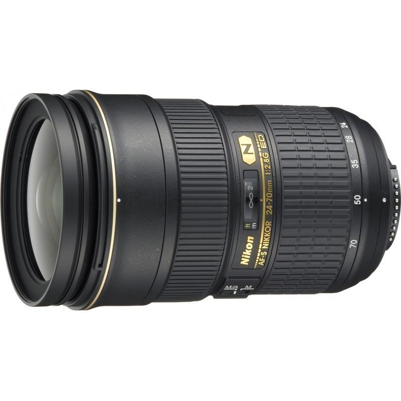Nikkor AF-S 24-70mm f/2.8 G ED objektiiv