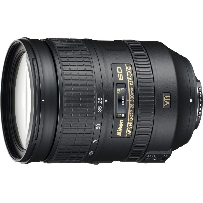 Nikkor AF-S 28-300mm f/3.5-5.6 G ED VR objektiiv