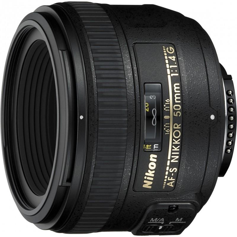 Nikon AF-S Nikkor 50mm f/1.4G objektiiv