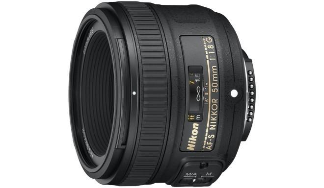 Nikon AF-S Nikkor 50mm f/1.8G objektiiv