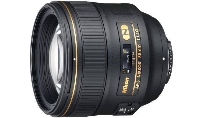 Nikon AF-S Nikkor 85mm f/1.4G objektiiv