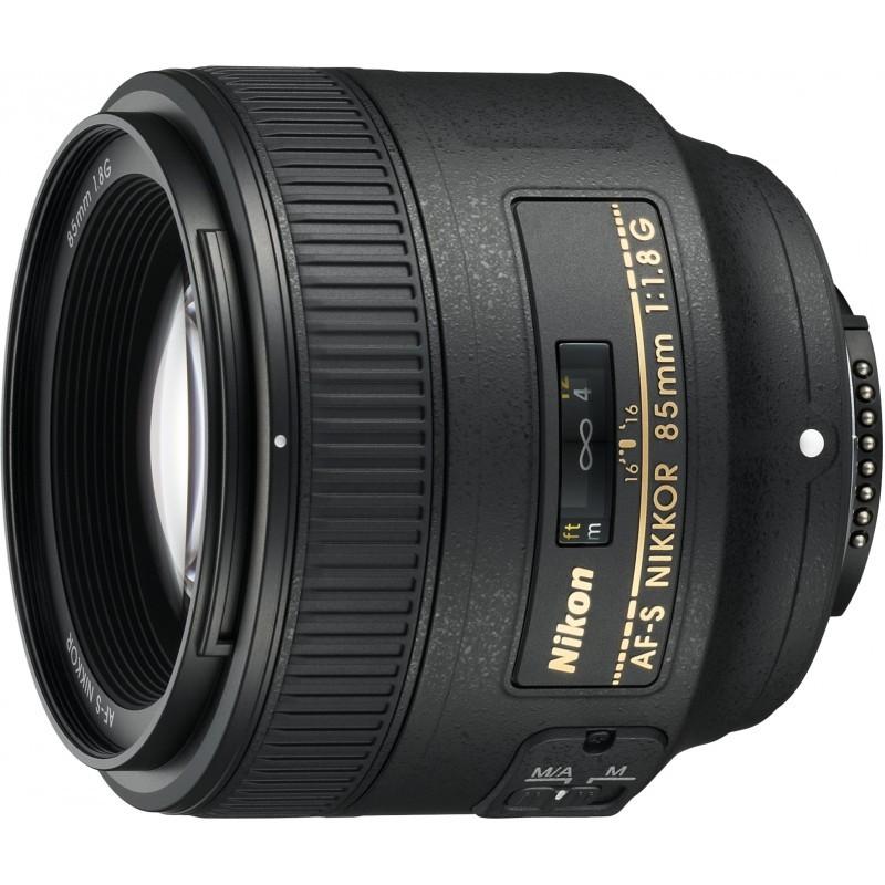 Nikkor AF-S 85mm f/1.8 G objektiiv