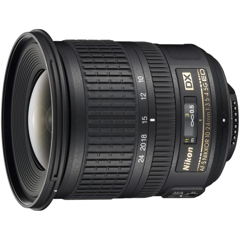 Nikon AF-S DX Nikkor 10-24mm f/3.5-4.5G ED objektiiv