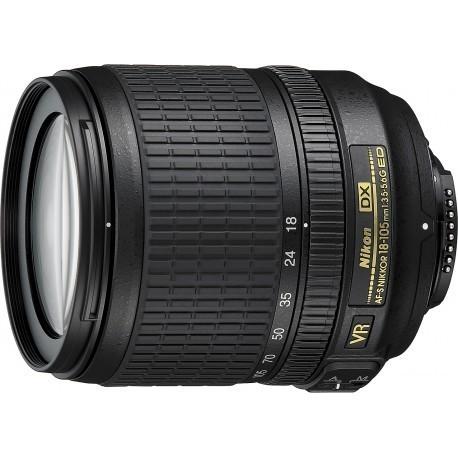 Nikkor AF-S DX 18-105mm f/3.5-5.6 G VR ED objektiiv