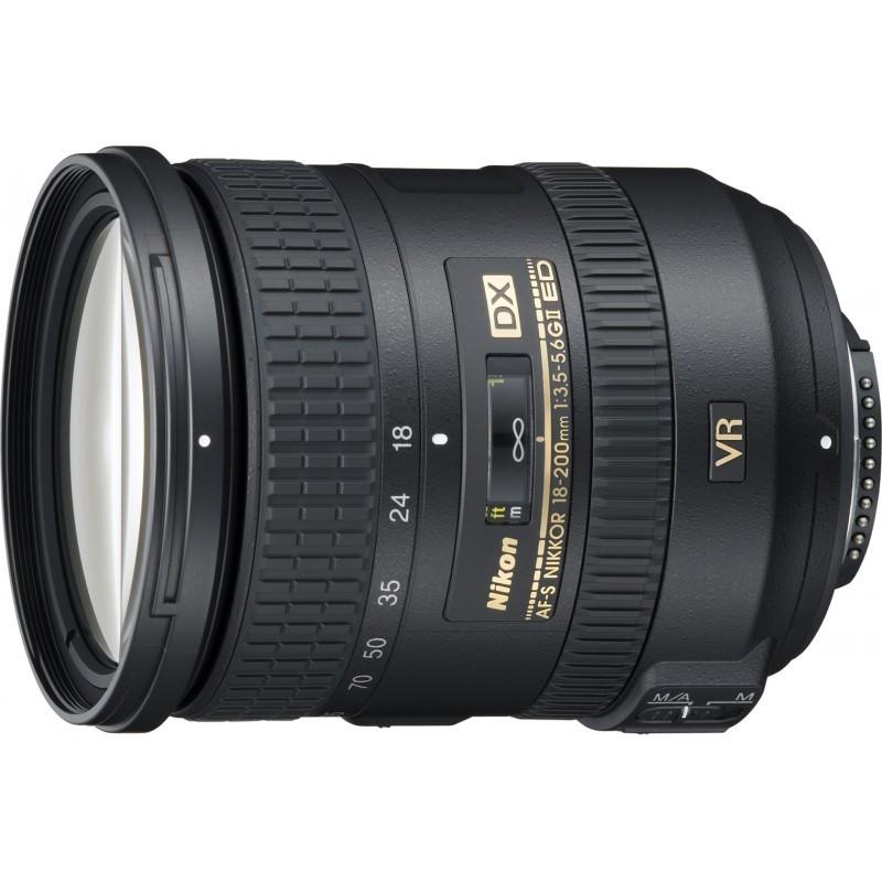 Nikon AF-S DX Nikkor 18-200mm f/3.5-5.6G ED VR II objektiiv