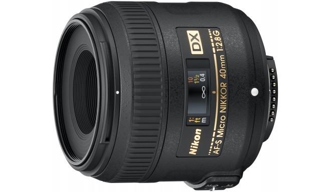 Nikon AF-S DX Micro-Nikkor 40мм f/2.8G объектив