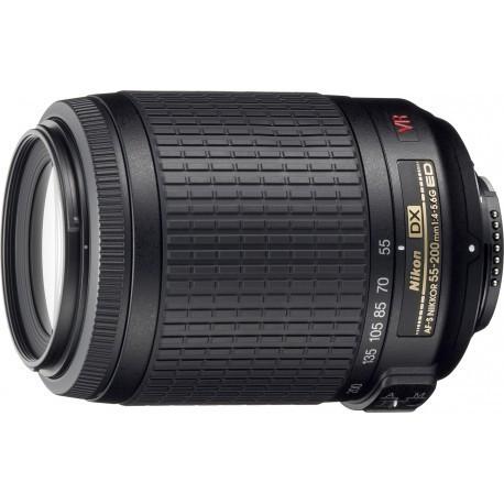 Nikkor AF-S DX 55-200mm f/4-5.6 G IF-ED VR objektiiv